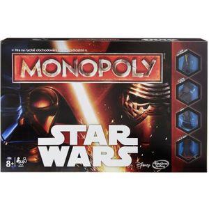 JEU SOCIÉTÉ - PLATEAU MONOPOLY - Star Wars