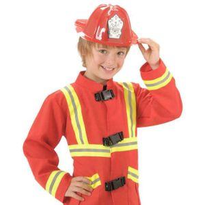 ACCESSOIRE DÉGUISEMENT Casque de Pompier - Jeu Jouet Déguisement Enfant -
