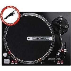 PLATINE DJ Reloop - Platine Vinyle RP 4000 M + CONCORDE BLACK