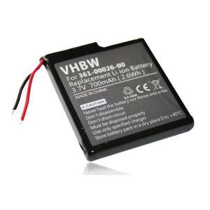 BATTERIE GPS vhbw Li-Ion batterie 700mAh pour système de naviga