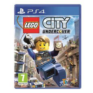 JEU PS4 LEGO CITY UNDERCOVER  PS4 MIX