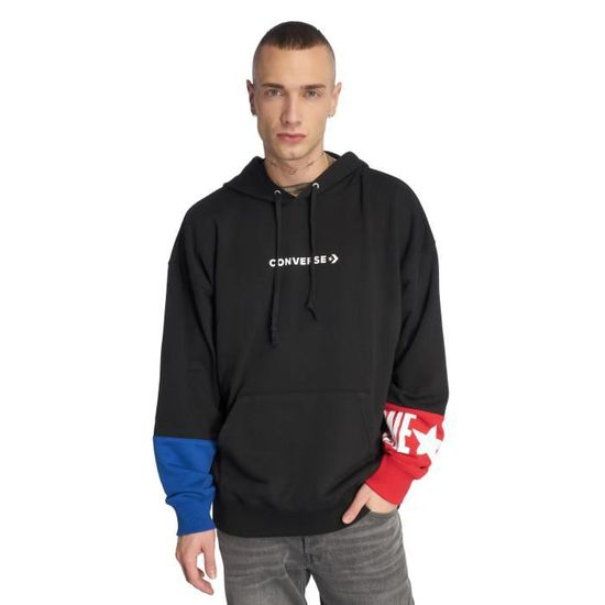 Converse Homme Sweats Capuche One Star Block Pack: