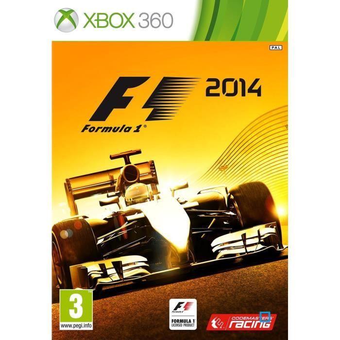 JEUX XBOX 360 F1 2014 Jeu XBOX 360