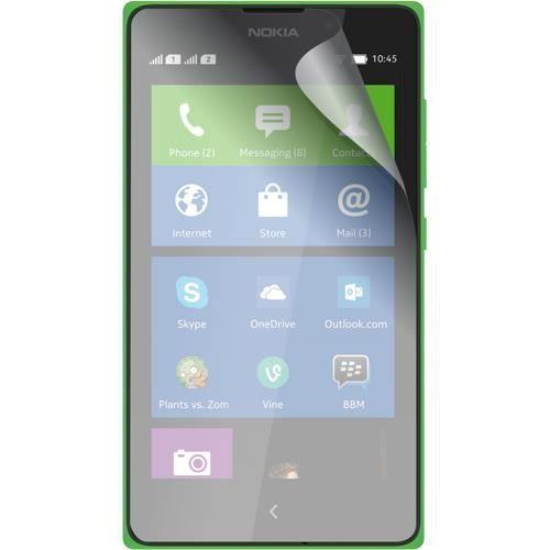 BLUEWAY Lot 2 protège-écrans One Touch pour Nokia XL - Transparent