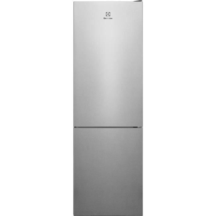 ELECTROLUX LNC7ME32X1 - Réfrigérateur congélateur bas - 302L (208+94) - No Frost - A++ - L60x H186cm