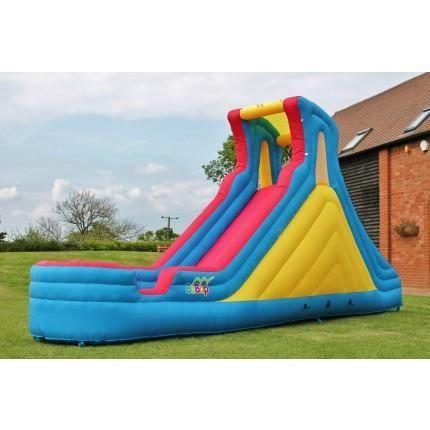 Bebop 5 5 m tres de jardin pour enfants toboggan gonflable achat vente aire de jeux - Aire de jardin pour enfant ...