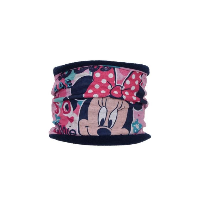 389441851b9e3 Tour de cou - Snood Minnie - Doublé polaire - masque de ski, bandeau -  Minnie Mouse - Disney
