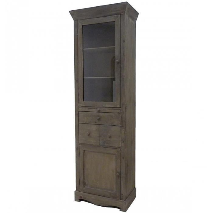 meuble de rangement salle vitrine achat vente pas cher. Black Bedroom Furniture Sets. Home Design Ideas
