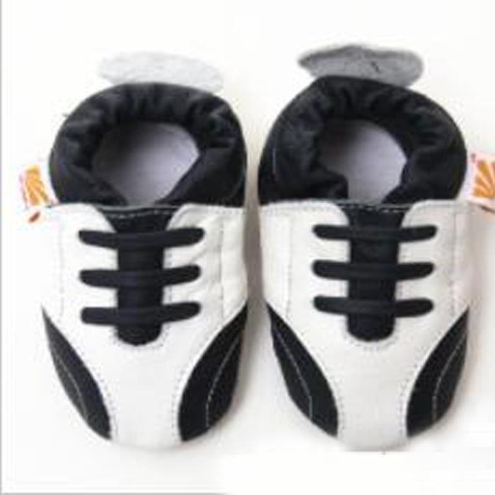 Enfants De Filles Antidérapants Mocassins Cuir Pour Mou Vache Bébé Chaus Pantoufles Chaussures Toddler PxnwddqTOH