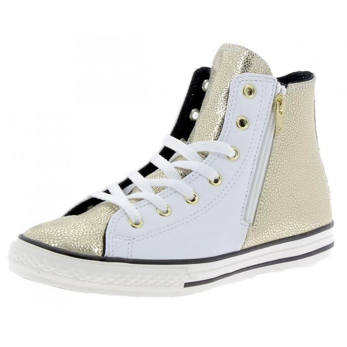 Converse - Converse Ctas Side Zip S Chaussures de Sport Blanc