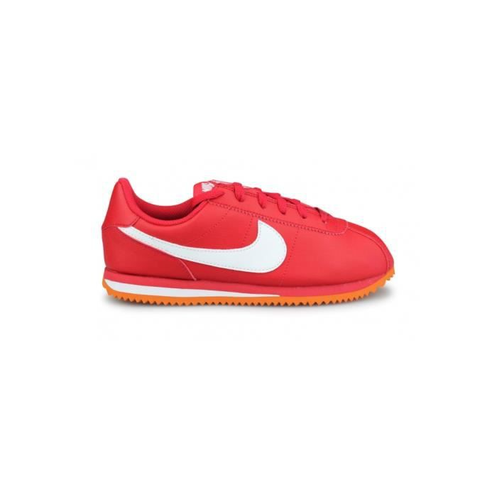 finest selection 4caad eee3c Chaussure ou basket rouge nike cortez