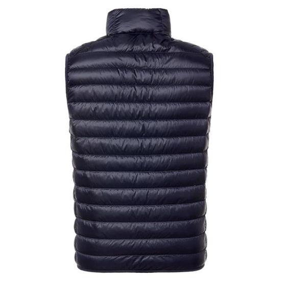 Doudoune Pour Hommes Léger Poids Homme Hiver Slim Marque Zipper Sans Manches Otxwzqa