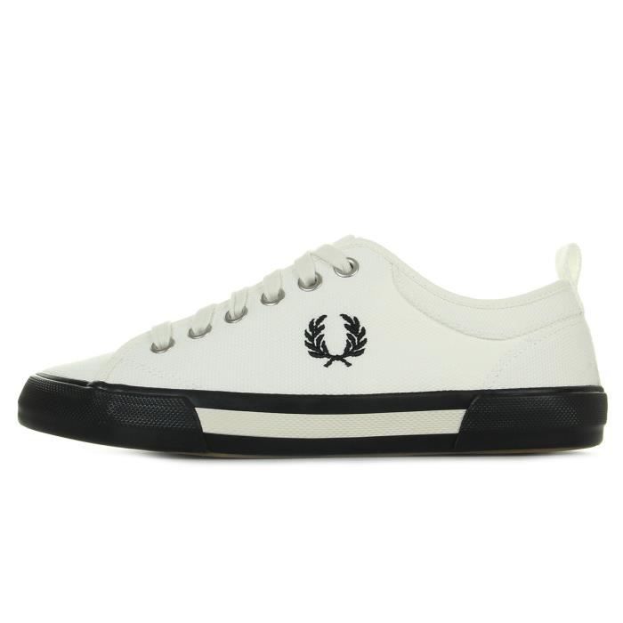 Baskets Fred Perry Horton Canvas Swow White