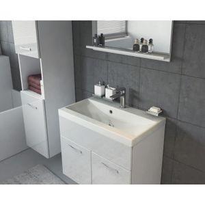 Meuble armoire salle de bain avec lavabo blanc achat for Livraison meuble montreal