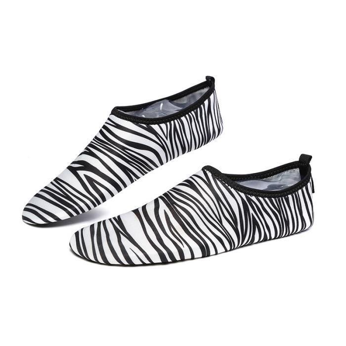 Chaussure Femme D'été Plage Slip Sur Parc Aquatique Sandales Chaussettes Eau Chaussures léger Ultra Confortable Taille 36 U0PxCZ9