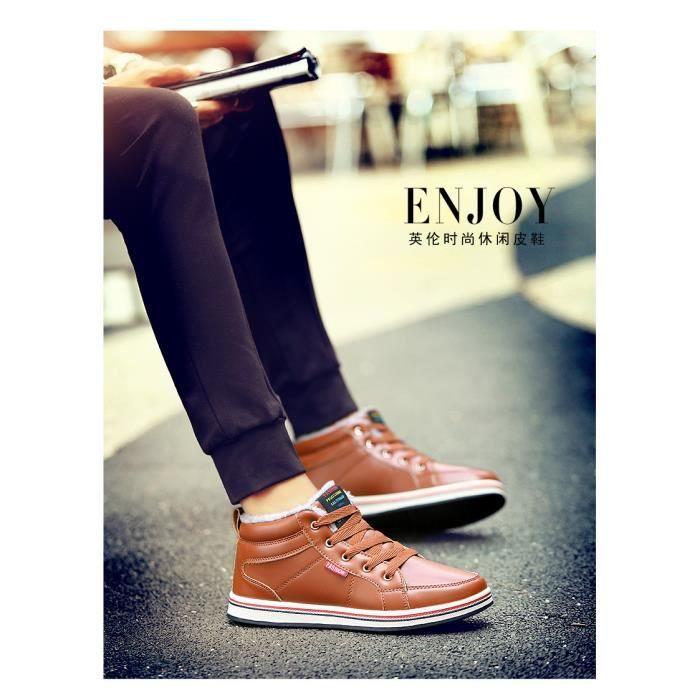 chaud pour chaussures en neige velours hommes Bottes d'hiver bottes de ainsi hommes coton des que EOfxqvx
