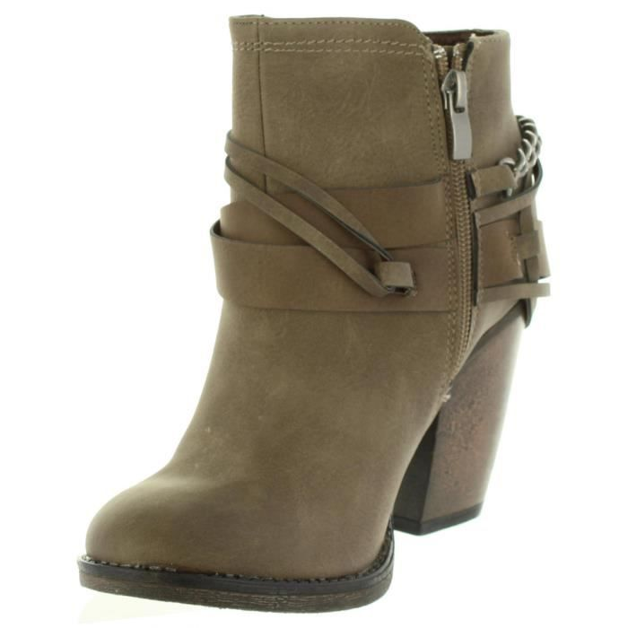 Bottines pour Femme MTNG 51590 C28660 SUED TAUPE A8kMy5YYyf