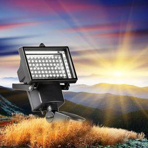 PROJECTEUR EXTÉRIEUR 60 LED lampe solaire pour jardin