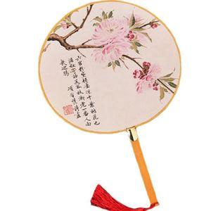 OBJET DÉCORATIF 2PCS tissu de coton Imprimer décor bambou poignée