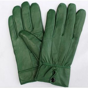 5f2dda7898fdb Gants Femme cuir chaleureux driving mitaine vert Vert - Achat ...