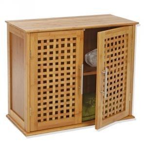 Meuble salle de bain bambou achat vente meuble salle - Meuble de salle de bain en bambou ...