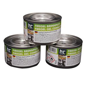 AIDE A L'ALLUMAGE 24x200g gel combustible