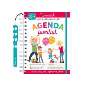 AUTRES LIVRES Agenda familial Mémoniak 2018-2019