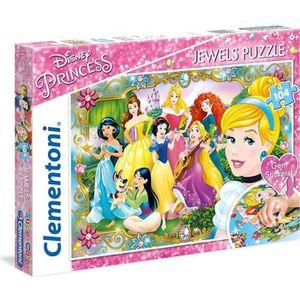 PUZZLE CLEMENTONI - Disney Princesses - Puzzle Bijoux 104