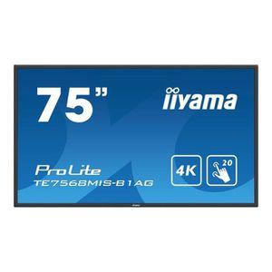 ECRAN ORDINATEUR Iiyama ProLite TE7568MIS-B1AG - Classe 75