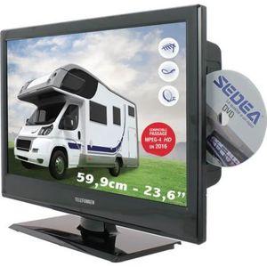 Téléviseur combiné TELEFUNKEN TV Camping car combo DVD 59,9 cm - déco