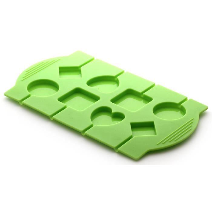 YOKO DESIGN Moule à lolly et sucette - Vert