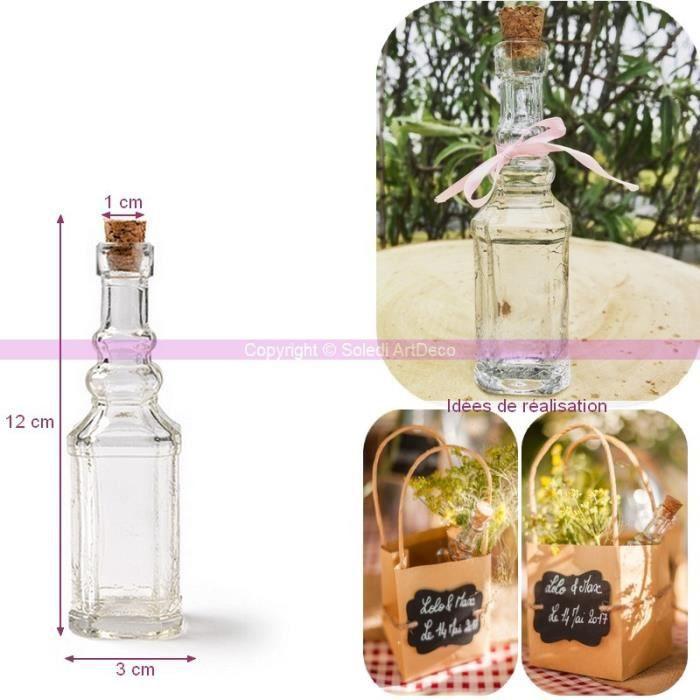 Mignonette en verre achat vente mignonette en verre pas cher soldes d s le 10 janvier - Bouchon liege pas cher ...