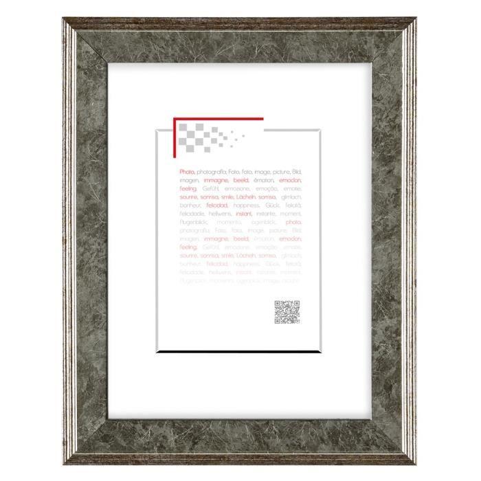 brio cadre photo hestia argent 10x15 cm achat vente cadre photo soldes d s le 10 janvier. Black Bedroom Furniture Sets. Home Design Ideas