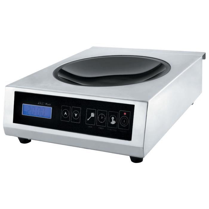 plaque wok induction achat vente pas cher. Black Bedroom Furniture Sets. Home Design Ideas