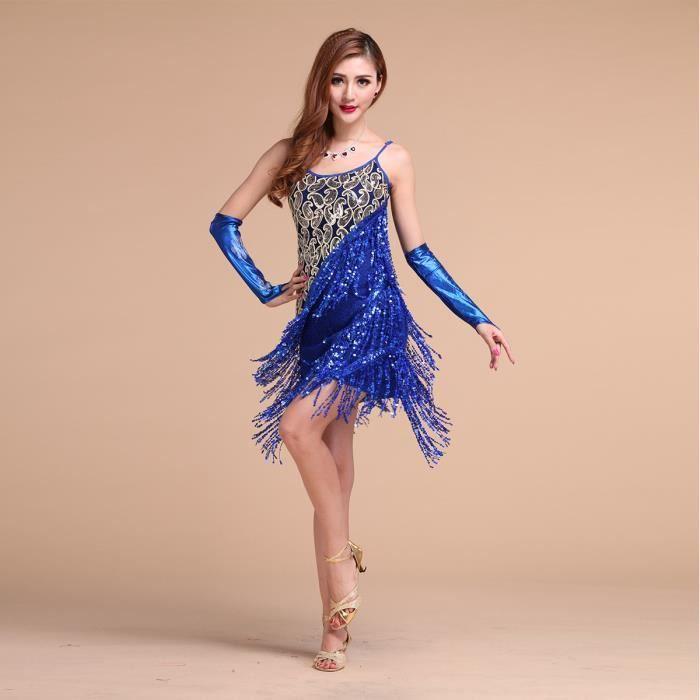 36f4b3660a4f8 Robe de danse latine -bal - Achat   Vente pas cher
