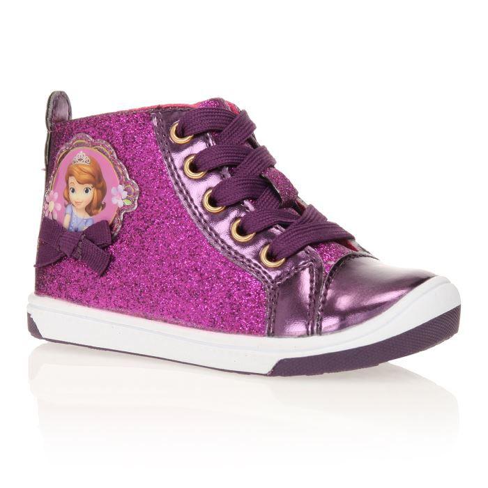 8a060dc007ea PRINCESS SOFIA Baskets Montantes Chaussures Bébé et Enfant Fille ...