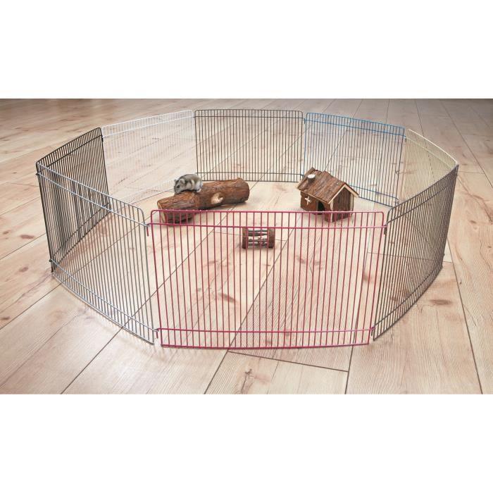 Conseil pour un enclos Trixie-enclos-metal-verni-o86cm-pour-rongeur