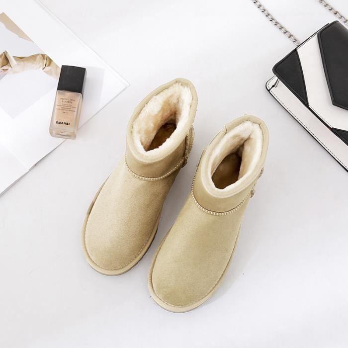 Femme Chaussures Bottes de neige bottine Mode