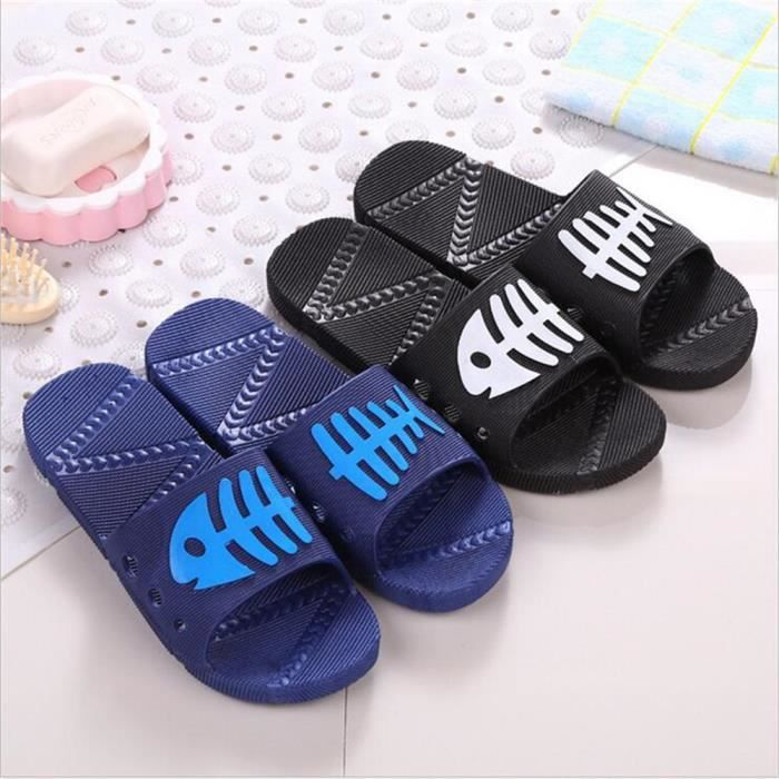 79118544a5269 ... Chaussures Tongs Marque De Luxe Marque Pantoufle Loisirs Sandale Massant  Fond Plat Sandale Luxe Hommes Grande