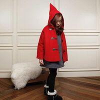 MANTEAU - CABAN Manteau de Noël rouge 9-10 ans