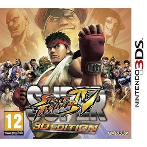 JEU NEW 3DS - 3DS XL Super Street Fighter Iv - Jeu Nintendo 3DS