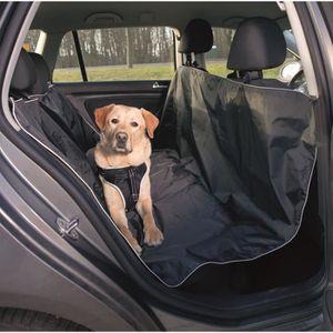 TRIXIE Couverture pour si?ges de voiture - 1,45x1,60 m - Noir - Pour chien