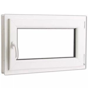 FENÊTRE - BAIE VITRÉE Fenêtre oscillo-battant en PVC Double vitrage Poig