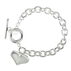 BRACELET - GOURMETTE Bracelet breloque Argenté argent sterling 925 00 B 3afd3a4137bd
