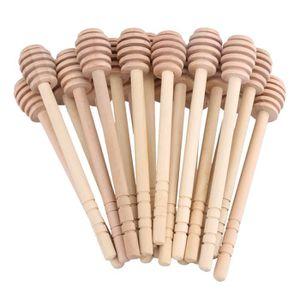 CUISINIÈRE - PIANO 20pieces 14.5x2cm bois miel casserole bâton en boi