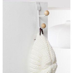 patere dessus de porte achat vente patere dessus de porte pas cher cdiscount. Black Bedroom Furniture Sets. Home Design Ideas