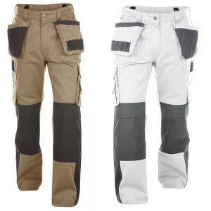 VÊTEMENT DE PROTECTION Pantalon de travail homme en pol... Beige / noir