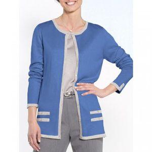 pas cher pour réduction bb518 f5bba Cardigan femme Celaia Bleu Bleu - Achat / Vente gilet ...
