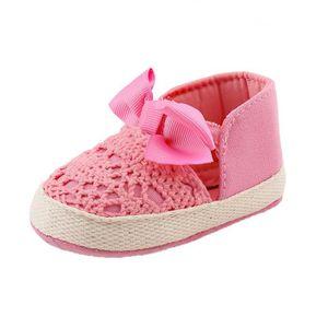 BOTTE Printemps doux semelle fille bébé premiers Walkers mode chaussures papillon-noeud chaussures@BlancHM yrsgHNvq7