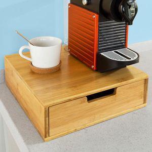 DISTRIBUTEUR CAPSULES SoBuy® FRG70-N Boîte de rangement à tiroirs pour c